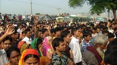 """""""Prayers to drive out ghost at Bangladesh garment plant."""" Which is worse - working at a clothing factory in Bangladesh, or working at a HAUNTED clothing factory in Bangladesh?"""