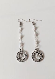 Orecchini rosario con orologio orecchini rosario di AnotherLAgrein