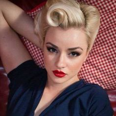 50s Hairstyles For Short Haircuts | http://www.short-hairstyles.co/50s-hairstyles-for-short-haircuts.html
