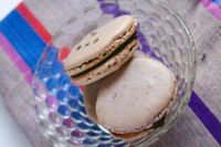 Lavender macarons with earl grey ganache - the homesteady