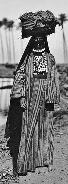 Bedouin woman. Egypt, ca. 1923.
