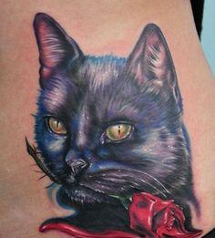 realistic-color-cat-tattoo-design