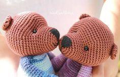 Items similar to Mr Brown Bear/Cute fluffy crochet bear/Stuffed Toy Bear/Bear Toy handmade by WoolyaBears/READY TO SHIP on Etsy Crochet Bear, Cotton Crochet, Crochet Hats, Bear Toy, Cute Bears, Brown Bear, Handmade Toys, Baby Toys, Delicate