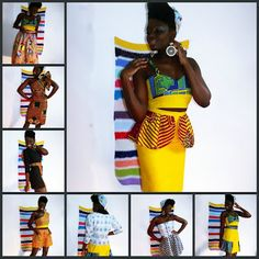 African Prints in Fashion - Label CJAJ09