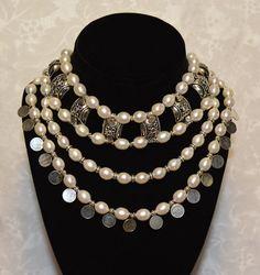 Large Pearl Masai Collar