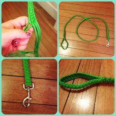 Lime green dog leash going out to a customer. Dog leashes $30 plus postage. Check out my facebook page for ordering. Can come in any colour. Won't rot very soft to touch and strong enough for those dog that love to pull. #dogleash #paracord #business #ropemaking #casshandmaderopehalters #likemyfacebookpage #greatcolours #custommadeitems #jamberrynails #muddygirlcamo by countrycassane