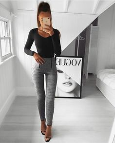 120 Pants Outfit Ideas Articolul 120 Pants Outfit Ideas apare prima dată în Tips for Ladies. Source: niceladies Source by Casual Outfits Fashion Mode, Work Fashion, Fashion Looks, Womens Fashion, Street Fashion, Classy Fashion, Office Fashion, Fashion Spring, Ladies Fashion