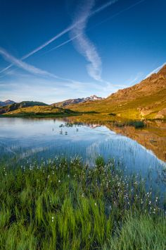 The place of my people. Lake Guichard - Savoie - Rhône Alpes - France