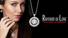 Rhythm of Love #Diamond pendants start at just $100! That's a whole lot of sparkle!
