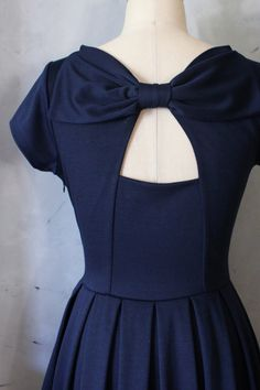 $68 and made in LA!!!  Holly Golightly in Navy