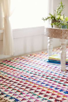 Magical Thinking Triangle Chindi Rag Rug - Urban Outfitters