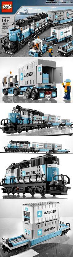 LEGO Creator Maersk Train 10219, , #Toys, #Building Sets