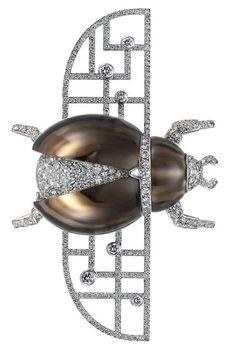 Cartier, Broche scar beauty bling jewelry fashion