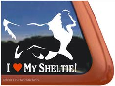 I-LOVE-MY-SHELTIE-Shetland-Sheepdog-Dog-Window-Decal-Sticker