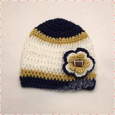 9568f071f Items similar to Los Angeles Rams Girls Flower Beanie/Baby Football/Newborn  Baby/Baby boy/Baby Girl/Newborn Photo prop/Baby Shower Gift/MADE TO ORDER on  ...