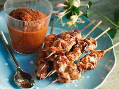 Smokey chicken with a mojodip