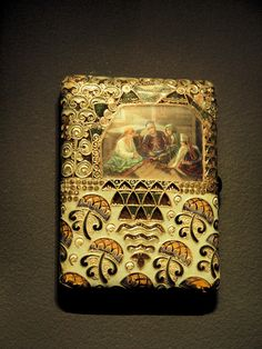 cigarette case by Faberge