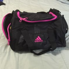 Adidas gym bag like new!!! Like new lots of space and pockets Adidas Bags Totes