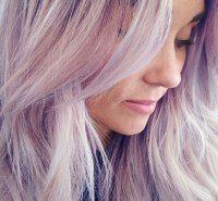 Lauren Conrad's Lavender Hair