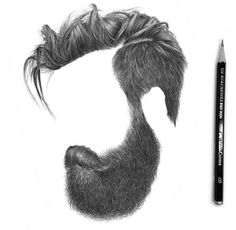 Photo by ✖✖ Hair Styles Menn ✖✖ on April Mens Hairstyles With Beard, Cool Hairstyles For Men, Hair And Beard Styles, Haircuts For Men, Long Hair Styles, Beard Art, Hair Png, Style Masculin, Hair Sketch