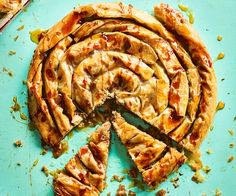 Observer Food Monthly's selection continues with dishes from top cooks such as Giorgio Locatelli and Anissa Helou, including Sicilian fried fish and a Syrian sweet pastry Savory Pastry, Filo Pastry, Med Diet, Sweet Pastries, Fried Fish, Vegan Cake, Mediterranean Recipes, Vegetable Recipes, Italian Recipes