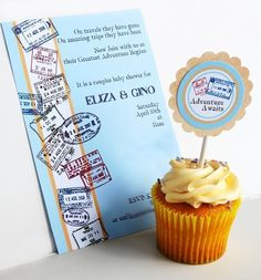 The Traveler's Printable and EDITABLE Party by PaperandPigtails, $12.50