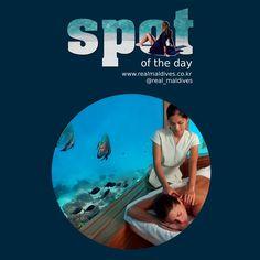 SPOT OF THE DAY - 후바펜 푸시 리조트 - 언더워터 스파 / Huvafen Fushi Maldives- Underwater Spa (2015년 6월 8일) #언더워터스파 #후바펜푸시리조트   #spotoftheday #리얼몰디브 #몰디브 #Maldives #몰디브여행사 #몰디브리조트 #traveling  #라군