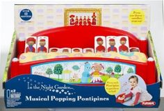 In The Night Garden Musical Popping Pontipines