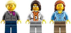 Thinking about how to represent people - minifig style?