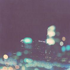 LA skyline - nightowl