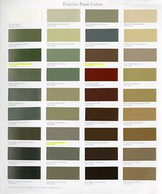 williamsburg paint colors | Martin Senour Paints, Williamsburg Collection