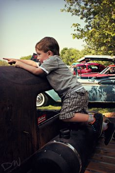 Ben playing on a ratrod 1930s, America, Couple Photos, World, Pictures, Photography, Beauty, Couple Shots, Photos