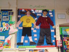 Ourselves Display, classroom display, class display, Ourselves, All About Me, bodies, growth, Early Years (EYFS), KS1 & KS2 Primary Resources