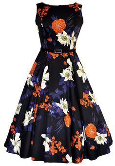 Lady V London - Hepburn dress: http://poniesandteacups.wordpress.com/2013/05/14/summer-dresses-round-two/