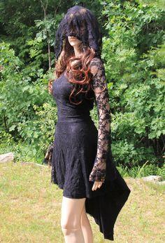 Vestido negro largo vestido de noche vestido de mujer de