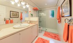 Bathroom upstairs