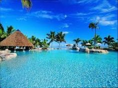 Fiji resorts...wow, I think the clearest waters in the world are in Fiji.  Wouldn't you love to take a swim in that water?  http://search.discounttravelprices.com/City/Taveuni.htm