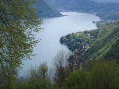 lago di como  primo bacino (dal sentèe di sort)