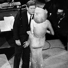 marilyn monroe and president john f kennedy