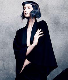 präsentiert von www.my-hair-and-me.de #women #hair #haare #black #bob #blue #straight #glatt