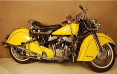 1948 Indian Chief.. I have a 2000.. check the suicide shift :-)