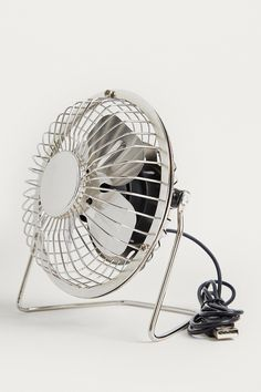 Shop Silver USB Desk Fan at Urban Outfitters today. We carry all the latest styles, colours and brands for you to choose from right here. Urban Outfitters, Usb, Chalk Pens, Desk Supplies, Desk Fan, Desk Accessories, Paper Clip, Objects, Colours