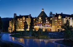 Ritz Carlton, Lake Tahoe... husband and I will visit this summer:)))