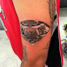 Chronic Ink Tattoo - Toronto Tattoo Realism diamond tattoo done by Martin.