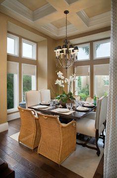 Orlando Tropical Home Design,   Dining room