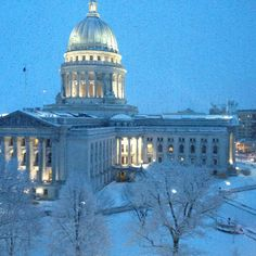 Madison, #WI in the #winter