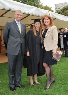 *PRINCE ANDREW & SARAH FERGUSON:  Duchess of York, attend the 2011 graduation ceremony of eldest daughter, Princess Beatrice, from the University of London Goldsmiths.