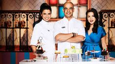 """In this show, dessert wizard Adriano Zumbo looks for the next """"Willy Wonka"""". I have a hard time understanding the Australian accents, but it is soooo worth it. King George, Adriano Zumbo Cakes, Best Tv Shows, Favorite Tv Shows, Good Mood, Feel Good, Zumbo's Just Desserts, Zumbo Desserts, Best Series On Netflix"""