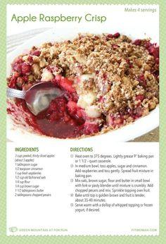 hand hath provided apple raspberry crisp rasberry apple tart see more ...