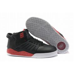 best service 9a614 2f187 black red white womens supra skytop iii